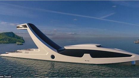 Un impressionnant yacht avec une piscine à débordement | Carnets de plongée | Scoop.it