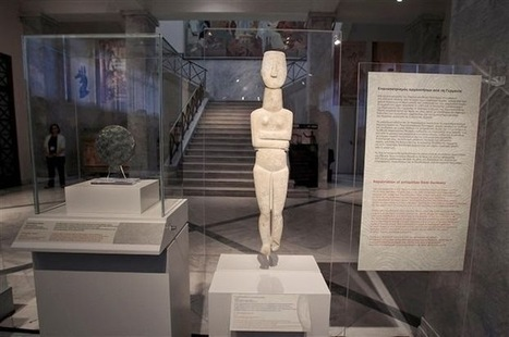 ALLEMAGNE/GRECE : German museum returns two Cycladic artefacts to Greece | World Neolithic | Scoop.it