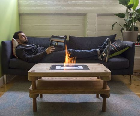 Decorative Indoor Fire Pit Coffee Table | News Info | Scoop.it