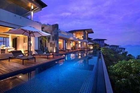 Pool-Bordered Penthouse Suites - The Conrad Koh Samui Resort's Oceanview Villa is Breathtaking | Luxury Destinations | Scoop.it