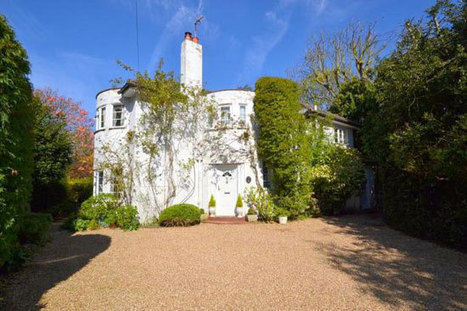 Four-bedroom 1930s art deco property in Laleham, Surrey - WowHaus | Vintage and Retro Style | Scoop.it