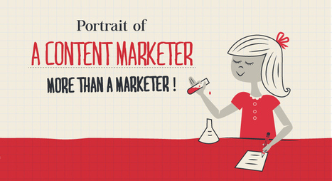 Portrait of a Content Marketer: More Than a Marketer [Infographic] | Social, Content, Hacking | Scoop.it