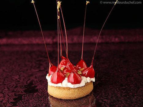 Tartelette en fraises d'amour   Recettes de cuisine de Meilleur du Chef   Scoop.it