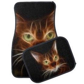 Car Mats With Cats - Flamin Cat Designs   Flamin Cat Designs At Zazzle   Scoop.it