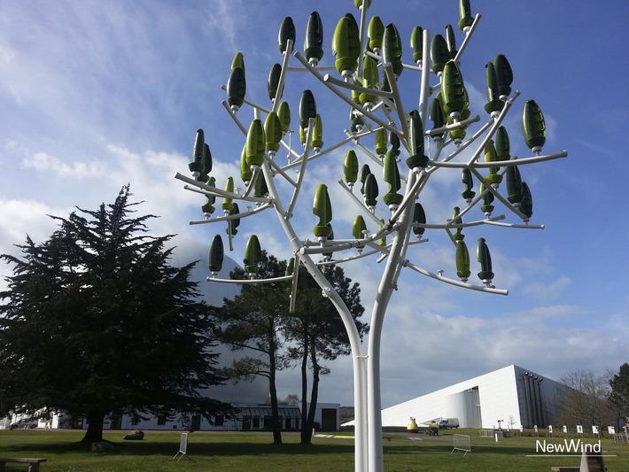 [Vidéo] New Wind lance son Arbre à vent en Bretagne   Solutions locales   Scoop.it