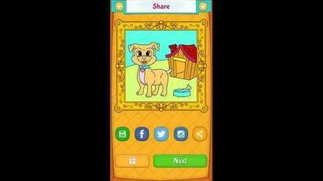 Dog Coloring Pages – Windows Apps on Microsoft Store | Windows Phone Apps and Games | Scoop.it