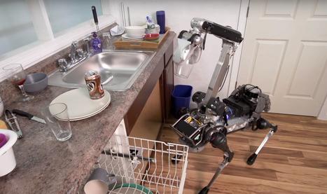 Boston Dynamics IMPRESSIONNE avec le robot-domestique SpotMini | Soyons Geeks & Or-e-ginaux | Scoop.it