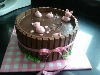 Amanda Patterson - Google+ - Pigs in Mud Cake… | DIY and Crafts | Scoop.it