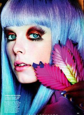 Psychedelic Beauty Looks | Trending Beauty | Scoop.it