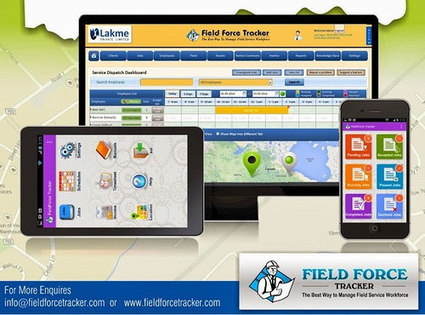 Field Force Tracker - The Best Software For Field Service Management | Traking Software | Scoop.it
