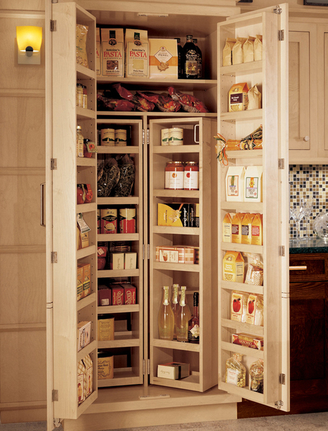 With kitchen cabinet conveniences – simpler is usually better.   Design Your Kitchen Right   Scoop.it