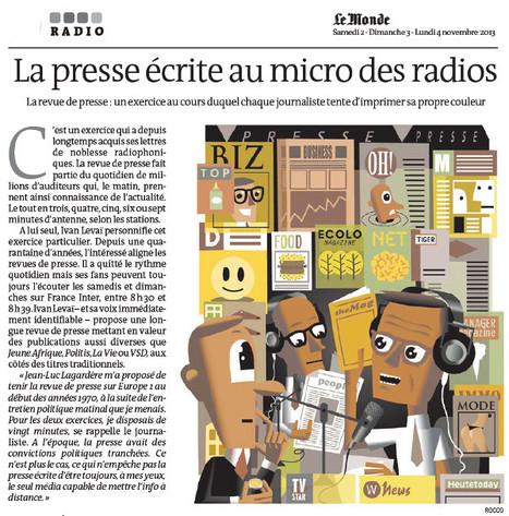 La presse écrite au micro des radios | DocPresseESJ | Scoop.it