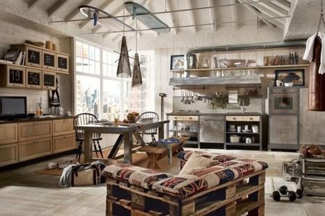 La décoration vintage pour votre cuisine, c'est la nouvelle tendance !   Maison   Scoop.it