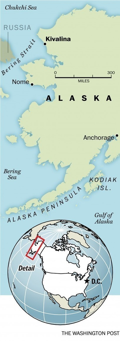 The remote Alaskan village that needs to be relocated due to climate change | Climate Chaos News | Scoop.it
