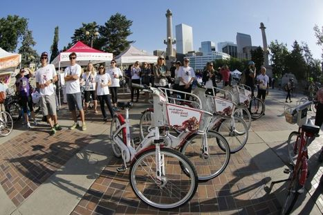 Downtown Denver Could Soon Have a Crowdfunded Bike Lane – Next City | Community: Building, revitalizing, engaging | Scoop.it