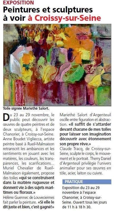 Exposition Chanorier | Croissy sur Seine | Scoop.it