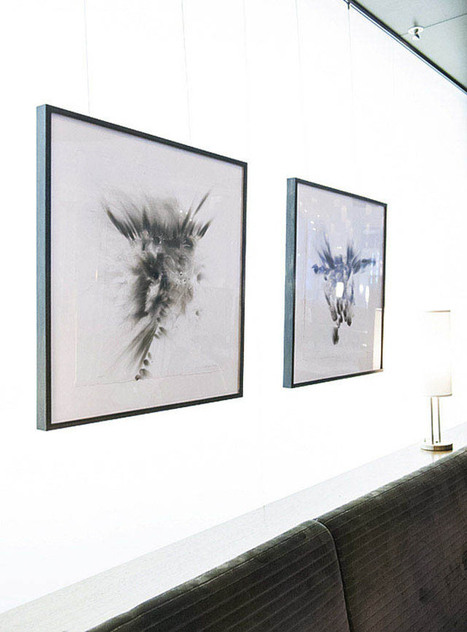 Fire, soot and Sanskrit: Interview with Japanese artist Etsuko ...The Japanese and sanskrit intrigued me.. and the fire   Seattle Artists   Scoop.it