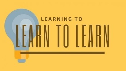 Why Learning to Learn is More Important than Ever! | FOTOTECA INFANTIL | Scoop.it