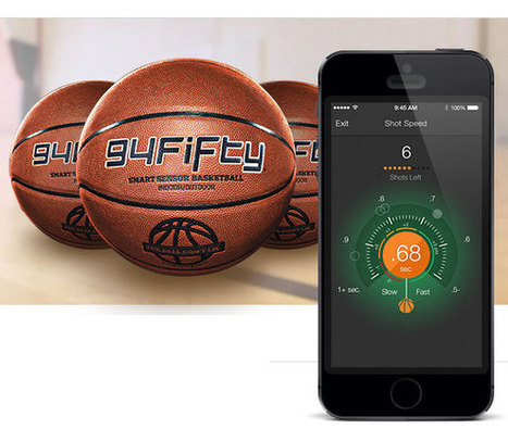 94 Fifty sensor : Lorsque la technologie s'invite jusque dans les ballons de basket ! | SENSOR | Scoop.it