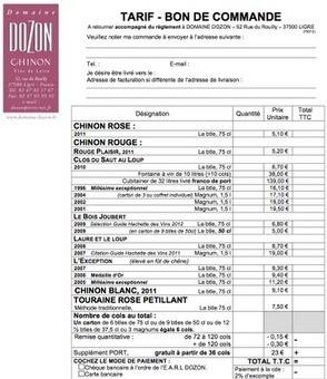 Le 8 juillet prochain, buvez le paysage de Chinon avec Laure Dozon | DOMAINES ET CHATEAUX AOC CHINON | Scoop.it
