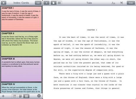 Storyist: un nuovo modo di scrivere | Software e App per Scrivere un Libro | Scoop.it