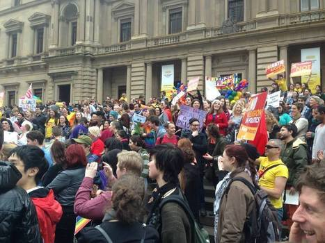 Rally for same-sex marriage rights – No to homophobia! | Same sex marriage | Scoop.it