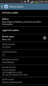 Samsung GALAXY Note 2 Android 4.3 update already arrived in Samsung Service Centers   Mobile Technology   Scoop.it