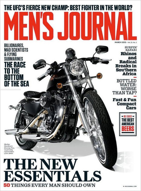 Men's Journal Gets Manlier - Brand New | Corporate Identity | Scoop.it