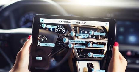 Hyundai makes owner's manuals more interesting with augmented reality | M-learning, E-Learning, and Technical Communications | Scoop.it