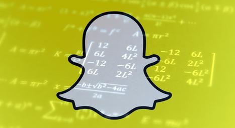 Un algorithme Snapchat pour gérer les publications des marques ?   Internet world   Scoop.it