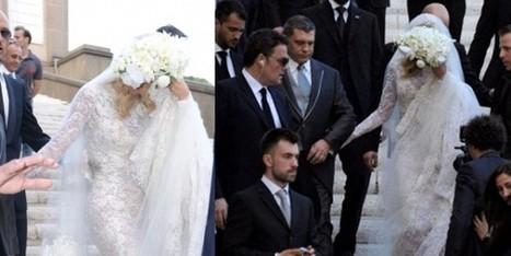 L'abito e le scarpe da sposa di Valeria Marini - Sfilate | fashion and runway - sfilate e moda | Scoop.it