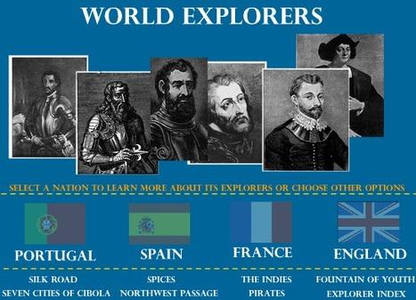 World Explorers Interactive Scavenger Hunt | 7th grade History World Explorers | Scoop.it