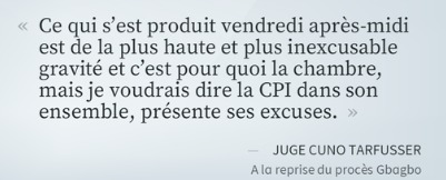 Procès Gbagbo: la CPI s'excuse pour la divulgation de l'identité de témoins | Actualités Afrique | Scoop.it
