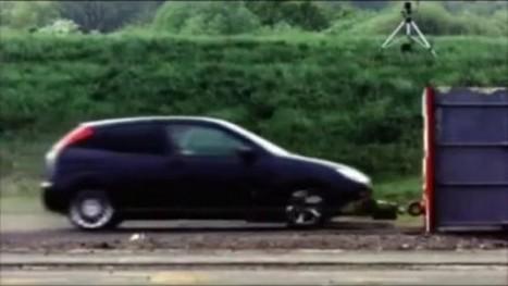 Crash à plus de 190 km/h : avez-vous une idée du résultat ? | Sécurité et prévention routière | Scoop.it