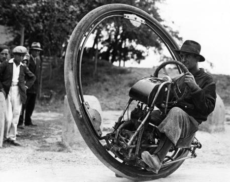 1930s: Monocycles   ARCHIresource   Scoop.it