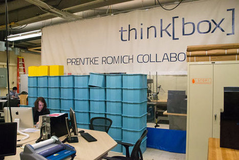 thinking outside the box is easy at multi-million dollar invention center think[box] | maker space | Scoop.it