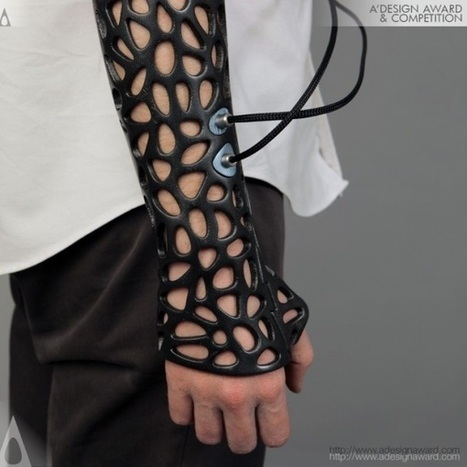 3ders.org - This 3D-printed cast could speed up healing, and it looks awesome | 3D Printer News & 3D Printing News | tecnología industrial | Scoop.it
