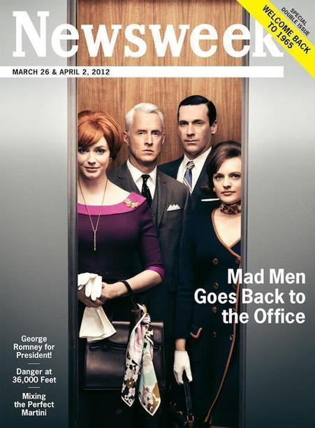 For New 'Mad Men' Season, Magazine 'Retro-fies' Ads - DesignTAXI.com | A Cultural History of Advertising | Scoop.it