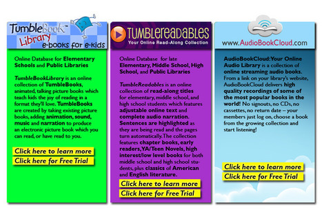 Tumblebooks - eBooks for eKids!   Struggling readers   Scoop.it