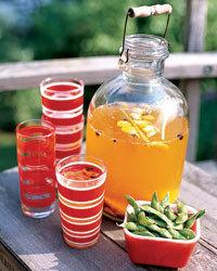 Saffron Cooler Recipe | À Catanada na Cozinha Magazine | Scoop.it