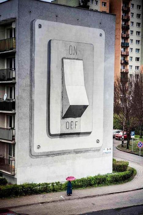 ESCIF – 30 créations de Street Art décalé et revendicatif | Ufunk.net | Street Art by Mod&Wa | Scoop.it