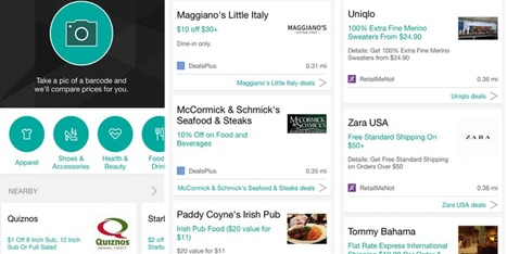 Bing Search for iPhone gets barcode scanner w/ price comparisons, deal finder feature, & 3D Touch | Macwidgets..some mac news clips | Scoop.it