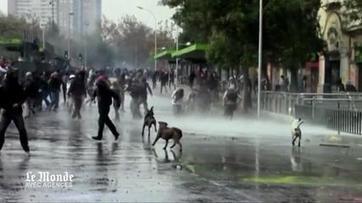Chili : affrontements entre police et étudiants lors d'une manifestation | Retour | Scoop.it