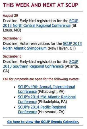 The SCUP Scan for August 26–31, 2013 v26n36 | SCUP Links | Scoop.it