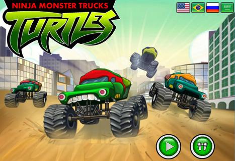 Ninja Monster Trucks - Play Best Racing Games | Racing Games | Adventures Games | Avatar Games | Scoop.it