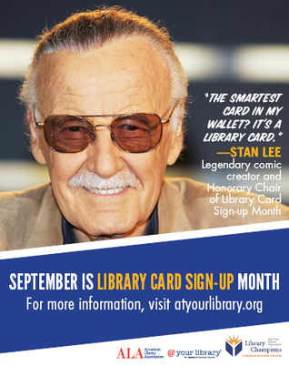 September is Library Card Sign-up Month | Conferences & Events | Library Gems for All Ages | Scoop.it