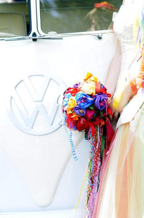 Rainbow Wedding Dress|Uniquely You Planning On How To Plan A Perfect Wedding | Wedding Planning | Scoop.it
