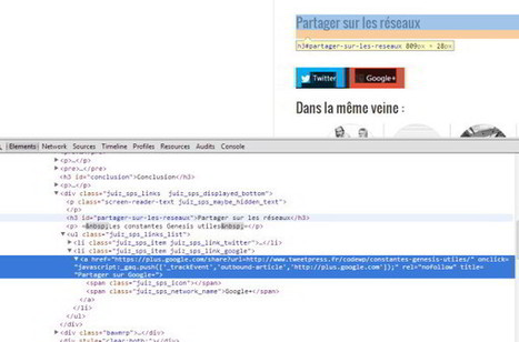 WordPress : comment identifier les thèmes et plugins des autres - Choblab | Wordpress pour les noobs comme moi | Scoop.it