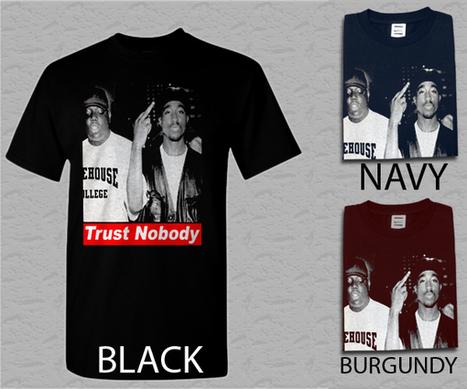 Men T Shirt Tupac Trust Nobody Adult T-Shirt S - XXL | Cheap Black T-Shirt And Tank Top | Scoop.it