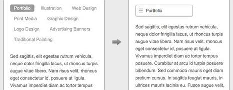 CSS: Responsive Navigation Menu | Responsive Nav Bars | Scoop.it